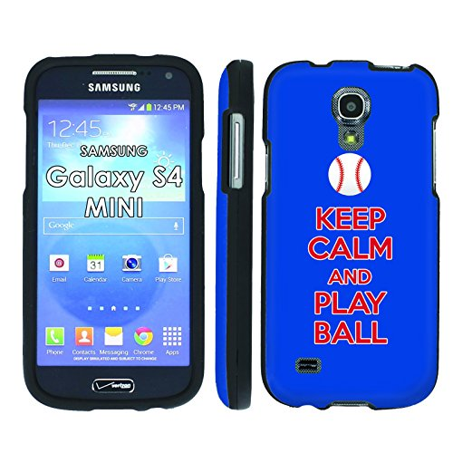 Keep Calm and Play Ball - Philadelphia - Mobiflare Samsung Galaxy S4 Mini GT-i9195 Slim Guard Armor Black Phone Case (Samsung Mini S4 Phillies Case compare prices)