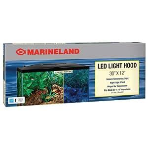 Amazon.com : Marineland LED Light Hood, 30-Inch by 12-Inch ...