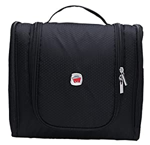 Zatous Portable Hanging Toiletry Bag Travel Kit Organizer Cosmetic bags Bathroom Storage Travel Bag for Men and Women 0018hei.ca