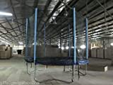 10FT (8 POLES) REPLACEMENT TRAMPOLINE SAFETY-NET ENCLOSURE SURROUND SAFE FREE DELIVERY