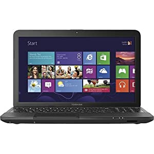 Toshiba Satellite C855D-S5100 15.6-Inch Laptop (Satin Black)