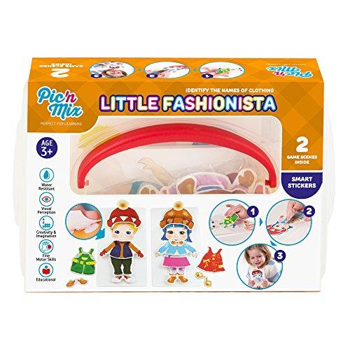 Picnmix Piccolo stilista Vestire i Giochi e Giocattoli Educativi per Bambini di 3 anni a 7 anni