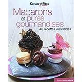 Macarons et pures gourmandisespar Marina Bachet