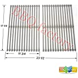 BBQ factory 7527 9869 7526 7525 Stainless Steel ROD BBQ Replacement Cooking Grill ROD Grid Grate for Weber 7527, Lowes Model Grills