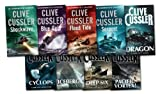 Clive Cussler Clive Cussler Dirk Pitt Series Collection 9 Books Set (Deep Six, Blue Gold, etc) (Dirk Pitt Series)