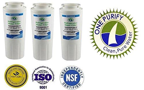 Rfc-900A Compatible Water Filter For Kenmore Models 469006, 469992, 469030; Maytag Models Ukf8001 And Ukf8001P; Amana 12527304, Ukf8001Axx, Ukf8001; Aqua Fresh Wf295 And Swift Green Sgf M10. (3) front-498128