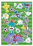 4076 – HABA – Wandaufkleber Fußball-Dinos