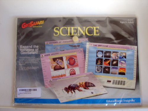GEOSAFARI SCIENCE EI-8715 LEARNING CARDS