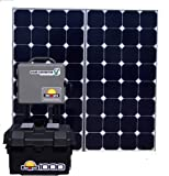 Portable Solar Generator Sunxgen 1000w -180 W Mono crystalline Solar Panel,1000 W Power Inverter.