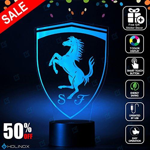 Holinox - Ferrari Lighting Decor Gadget Lamp