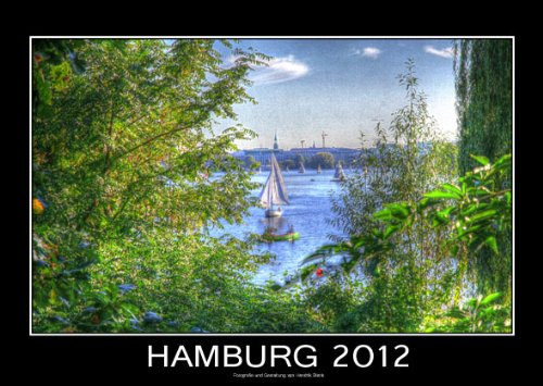 Hamburg 2012 - Gro&#223;er Hamburg Kalender 2012 von Hendrik Blank (Fotokalender - Wandkalender DIN A3 Querformat)