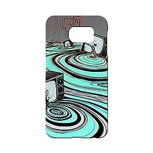 BLUEDIO Designer 3D Printed Back case cover for Samsung Galaxy S6 Edge Plus - G5695