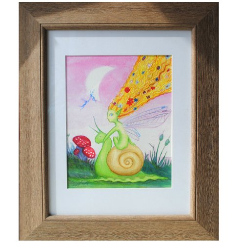 "Loralin Design Imagination Series Artwork, Fairy, 10"" x 14"""