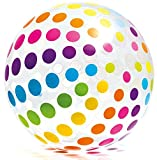 Intex - Jumbo Glossy Panel Ball - Stripes or Dots, Styles May Vary 42