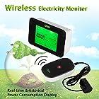 Floureon Wireless Electricity Monitor Energy Saver Series Power Monitor Energy Monitor Power Meter