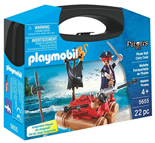 PLAYMOBIL Pirate Raft Carry Case Playset JungleDealsBlog.com