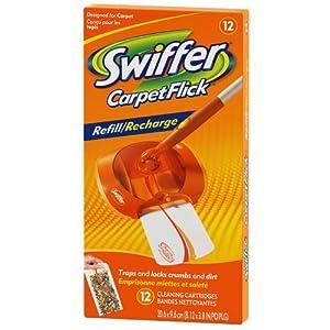 Amazon Com Swiffer Carpetflick Refill Pack 12 Ct