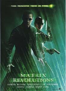 Amazon.com - The Matrix Revolutions Poster Spanish 27x40Keanu