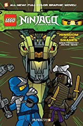 Ninjago Graphic Novels #5: Kingdom of the Snakes