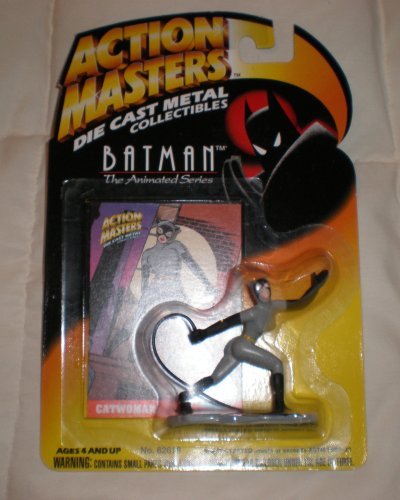 Picture of ACTION MASTERS Action Masters Batman the Animated Series Catwoman Die Cast Figure (B001CCAHV2) (Batman Action Figures)