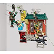Teenage Mutant Ninja Turtles Z-Line Fire Escape Free Fall Basic Playset