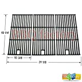 bbq factory Replacement Porcelain coated Cast Iron Cooking Grid Set of 3 for Select Gas Grill Models By Brinkmann, Charmglow, Costco Kirkland, For Jenn Air, Members Mark, Nexgrill, Perfect Flame, Sams Club and Others