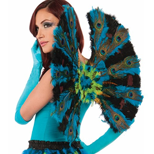 Forum Novelties Women's Deluxe Peacock Wings