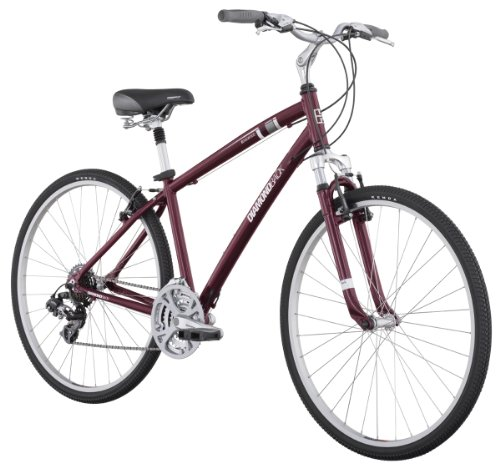 Men Hybrid Bikes Diamondback Edgewood Lx Men S Sport Hybrid Bike