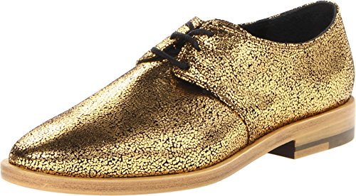 pictures of Vivienne Westwood Women's WV0025 Cracked Gold Oxford 38 (US Women's 8) M