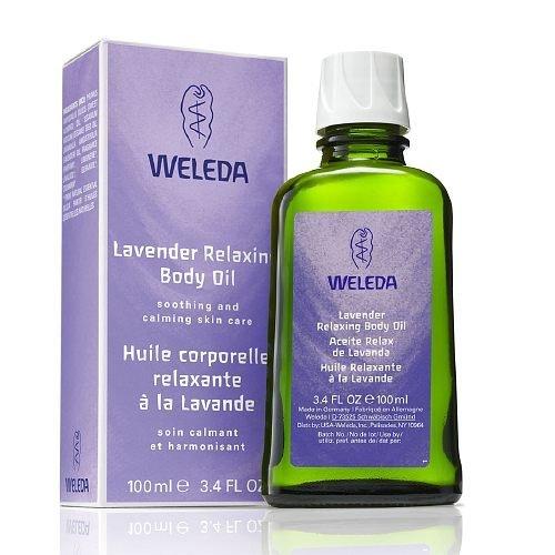 Weleda - Body Oil,Lavender, 1 x 3.4 FZ