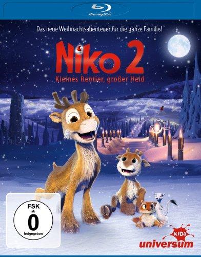 Niko 2 - Kleines Rentier, großer Held [Alemania] [Blu-ray]