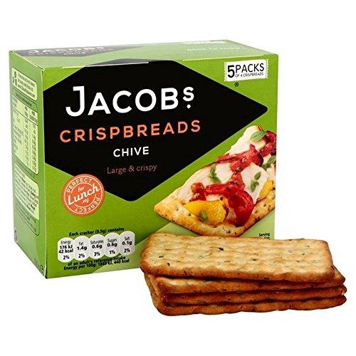 Les Biscottes De Jacob Ciboulette 5 X 4 Par Paquet - Paquet de 6
