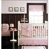 MiGi Pink Blossom 4 pc Crib Set
