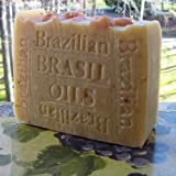 Brazilian Oil Soap with Organic Acai Berry Butter (Face and Body) ~ Natural Handcrafted...