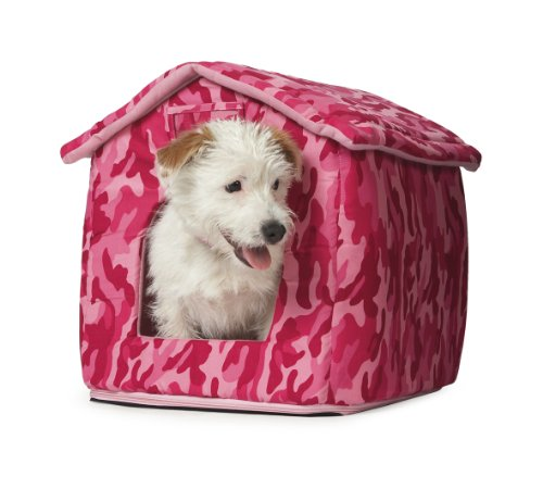 Ancol Just 4 Pets House Beds, Combat Pink