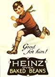 Heinz Baked Beans - Vintage Poster - 8 x 6 Steel Sign