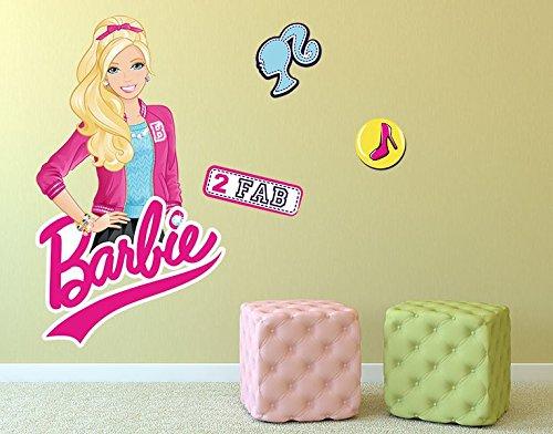 Klebefieber DS 1010-B Wandtattoo Barbie 2 FAB B x H: 40cm x 68cm (erhältlich in 10 Größen) kaufen