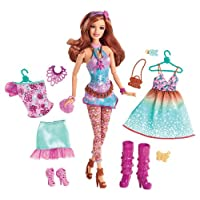 Barbie Fashionistas Fashion Fabulous Doll, Purple