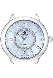 MICHELE Women's MW21B00A0063 Serein Silver-Tone Watch Head