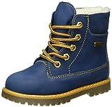 Däumling Unisex-Kinder Andy Kurzschaft Stiefel, Blau (42Denver Jeans), 24 EU