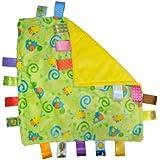 Taggies Little Taggies Blanket, Green Turtles