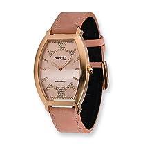 Moog Fashionista Urban Lady Pink Dial/Pink Leather Watch