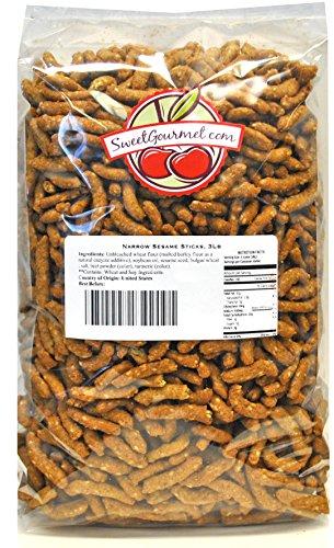 SweetGourmet Narrow Sesame Sticks, 3Lb
