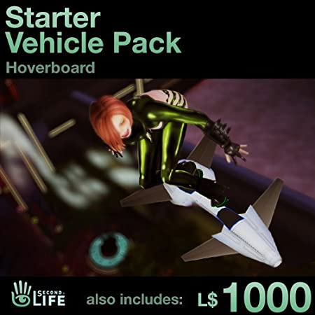 LIMIT ONE PER CUSTOMER - Starter Vehicle Pack - Soar: Second Life [Game Connect]