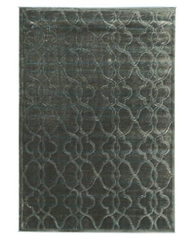 Linon Home Décor Platinum Raw Iron Rug