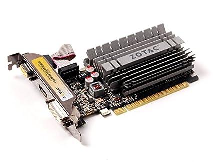 Zotac ZT-71106-10L Carte graphique NVIDIA GT 730 DDR3 G4bits 1Go