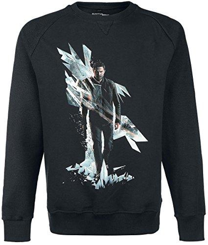 Quantum Break Box Art Pullover nero XXL