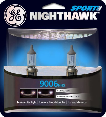 GE NIGHTHAWK SPORT 9006 Halogen Replacement Bulb, (Pack of 2) (Nissan Titan Headlight Tint compare prices)