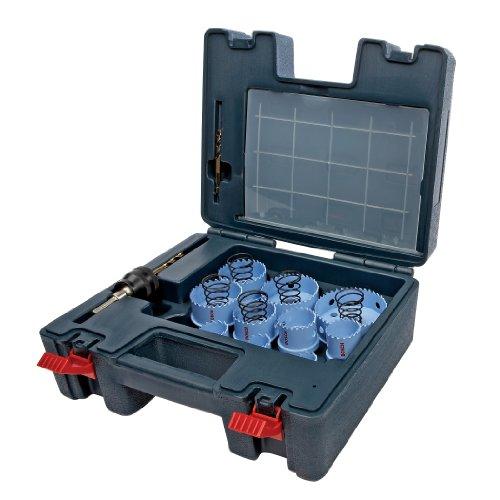 Bosch HSM23PCM  23 Piece Sheet Metal Hole Saw set (Bosch Quick Change Mandrel compare prices)