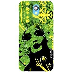 Printland Back Cover For HTC Desire 526G Plus - green colored Designer Cases